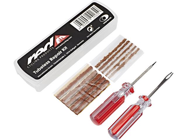 Red Cycling Products Tubeless Kit de reparación - rojo